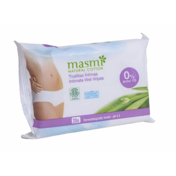 Masmi Organic Intimate Wet Wipes