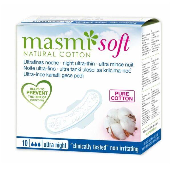Masmi Ultrathin Sanitary Pads - Natural Cotton - Night