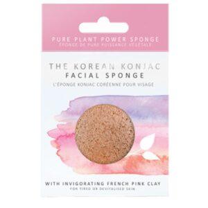 konjac sponge pink clay