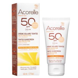 Acorelle Tinted Sunscreen SPF 50