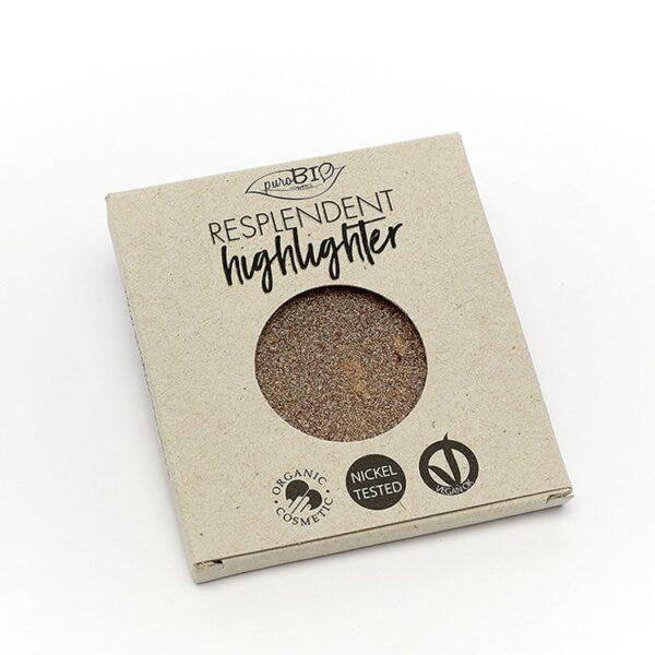 Purobio Resplendent Highlighter Shimmer N.03 Copper - Refill