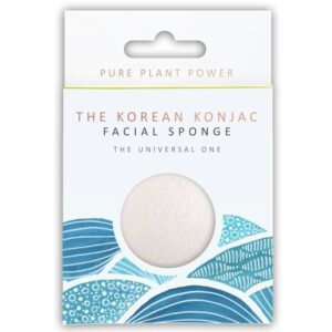 Konjac Sponge The Elements, Water Facial Puff Σφουγγάρι Προσώπου Konjac