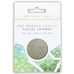 Konjac Sponge The Elements, Earth Facial Puff