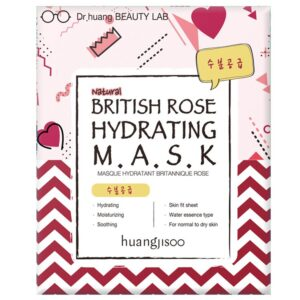 Huangjisoo Sheet Face Mask British Rose Hydrating