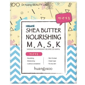 Huangjisoo Sheet Face Mask Shea Butter Nourishing