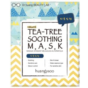 Huangjisoo Sheet Face Mask Tea Tree Soothing