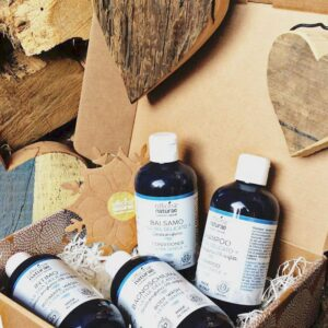 Συσκευασία 4 βιολογικών προϊόντων φροντίδας ευαίσθητου και αλλεργικού δέρματος