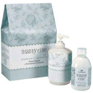 shabby chic victor philippe gift set υγρό σαπούνι Άρωμα Πορτοκάλι και κανέλα βιολογικά προϊόντα