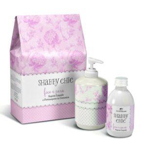 shabby chic victor philippe gift set υγρό σαπούνι Άρωμα Σύκο & Αχλάδι βιολογικά προϊόντα