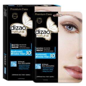 Dizao Natural Φυσική full-face μάσκα Boto με Υαλουρονικό οξύ