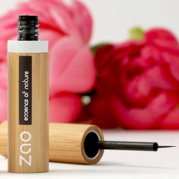 ONTS Προϊόντα Φυσικού και Βιολογικού Μακιγιάζ. ΖΑΟ Μake Up. βιολογικό eyeliner που εξασφαλίζει έντονο και μεγάλης διάρκειας αποτέλεσμα. Η εμπλουτισμένη σύνθεσή του με οργανικό gel Αλόης, σέβεται και φροντίζει τα ευαίσθητα μάτια.