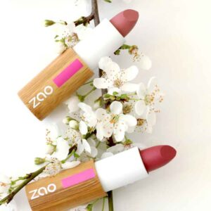 ONTS Βιολογικά και φυσικά προϊόντα περιποίησης σώματος Βιολογικό Μακιγιάζ Zao Lipstick Matt 100% φυσικά, βιολογικά & Vegan ματ κραγιόν, με οργανικό βούτυρο Καριτέ και Καστορέλαιο. Μακράς διάρκειας σταθερότητα και κάλυψη