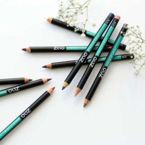 ONTS Βιολογικά και φυσικά προϊόντα περιποίησης Βιολογικό Μακιγιάζ Zao Pencil Eyes, Lips, Eyebrows: 100% φυσικά, βιολογικά & Vegan μολύβια, για ευκολία και ακρίβεια στο μακιγιάζ ματιών, χειλιών και φρυδιών