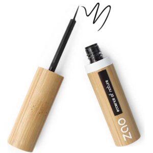 Zao Βιολογικό υγρό eyeliner με πινελάκι