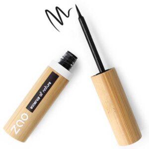 Zao Βιολογικό υγρό eyeliner με απλικατέρ στυλό