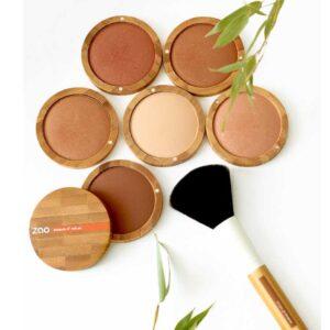 ONTS Φυσικό βιολογικό vegan μακιγιάζ Zao Mineral Cooked Powder Πούδρα bronzer 100% φυσική, βιολογική & Vegan