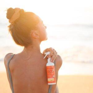 Acorelle Sunscreen Spray for Kids, SPF 50