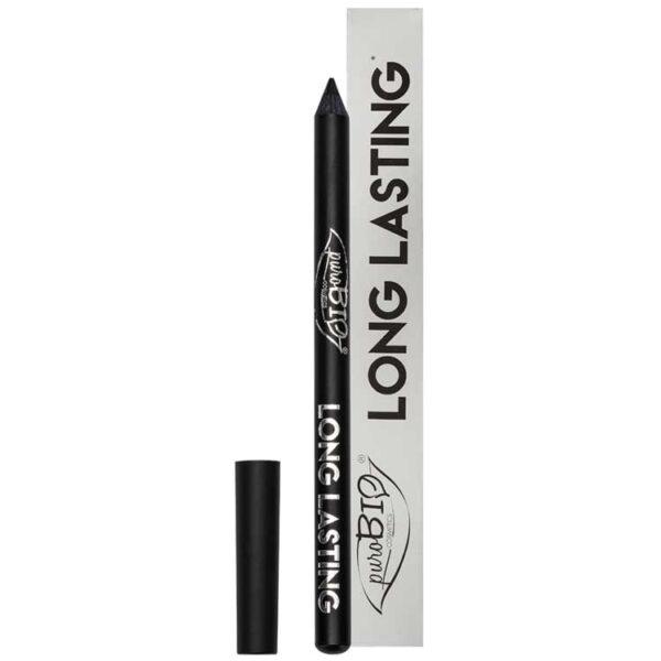 Purobio Eye Pencil Long Lasting Intense Black 01