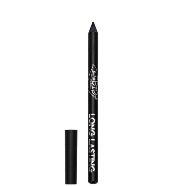 ONTS Βιολογικά και Vegan προϊόντα μακιγιάζ.PuroBio Βιολογικό μολύβι ματιών, με μεγάλη διάρκεια, απαλή εφαρμογή και έντονο μαύρο χρώμα.