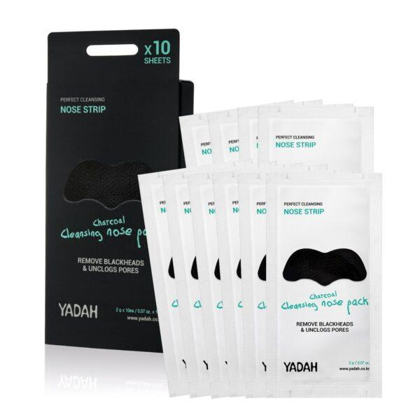 Μάσκες για την αφαίρεση του σμήγματος της μύτης με άνθρακα