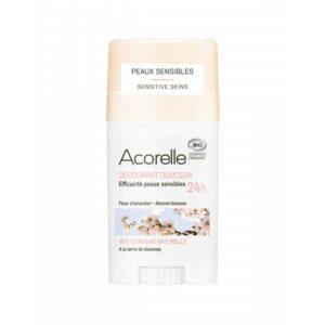 Βιολογικό αποσμητικό για ευαίσθητο δέρμα, με άρωμα αμυγδάλου και πούδρας - 45g