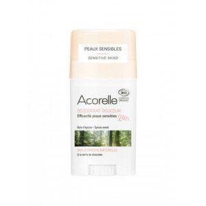 Βιολογικό αποσμητικό για ευαίσθητο δέρμα, με άρωμα από ξυλώδη μπαχαρικά - 45g
