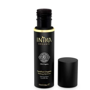 ONTS Προϊόντα Φυσικού και Βιολογικού Μακιγιάζ. INIKA ORGANIC Το Inika Organic Makeup Remover απομακρύνει τέλεια και απαλά όλα τα ίχνη μακιγιάζ και ρύπων, χωρίς να απογυμνώνει το δέρμα από τα απαραίτητα φυσικά του έλαια. Εμπλουτισμένο με έλαια Jojoba και Rosehip, για ενυδάτωση και ανανέωση του δέρματος, χωρίς υπολείμματα λιπαρότητας.
