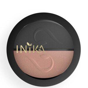 ONTS Φυσικά και Πιστοποιημένα Βιολογικά Προϊόντα Μακιγιάζ INIKA ORGANIC Pressed Mineral Eye Shadow Duo: Φυσικές σκιές ματιών με αγνές χρωστικές ορυκτών και αξιοσημείωτη απόδοση. Συνδυασμοί συμπληρωματικών αποχρώσεων.