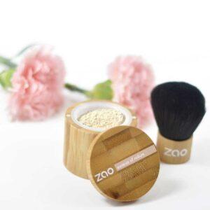 ONTS Bιολογικά και Φυσικά προϊόντα περιποίησης προσώπου και σώματος. Βιολογικό Μακιγιάζ. Zao Mineral Silk: 100% φυσικό make up σε σκόνη, βιολογικό και Vegan. Με σκόνη Ρυζιού, κατάλληλο για όλους τους τύπους δέρματος. Αέρινη υφή και ματ τελείωμα.