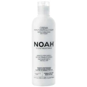 Φυσική μαλακτική κρέμα μαλλιών για ξηρά, θαμπά και εύθραυστα μαλλιά, με Γιαούρτι - 250ml