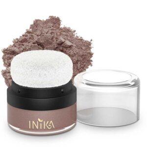 ONTS Προϊόντα φυσικού και Βιολογικού Μακιγιάζ INIKA ORGANIC Mineral Blush Puff Pot Η ελαφριά σύνθεση από ορυκτά συστατικά χαρίζει ένα βελούδινο, απαλό πέπλο χρώματος στα ζυγωματικά και υγιή λάμψη. Με ενσωματωμένο πρακτικό 'Puff Pott', τέλειο για γρήγορη εφαρμογή on the go.