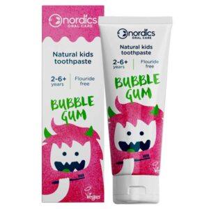 Φυσική οδοντόκρεμα για παιδιά 2-6+ χρονών, με γεύση τσιχλόφουσκας - 50ml