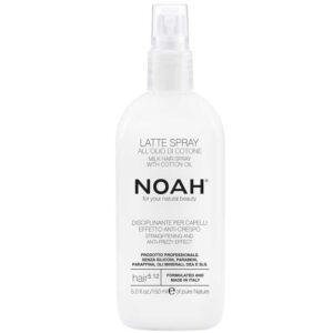 Ενυδατικό γαλάκτωμα spray για τα μαλλιά, με έλαιο Βαμβακιού - 150ml