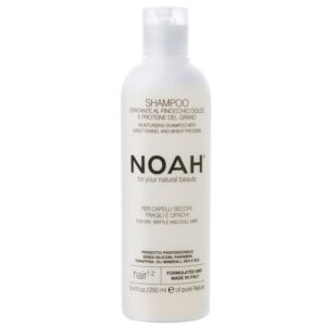 Φυσικό επαγγελματικό σαμπουάν με Μάραθο, για ξηρά, θαμπά και εύθραυστα μαλλιά - 250ml