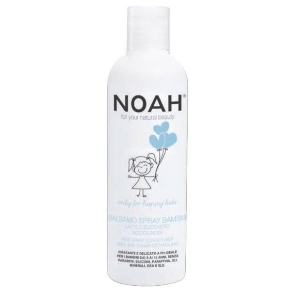 Παιδική μαλακτική κρέμα για μακριά μαλλιά, με πρωτεΐνες γάλακτος και σάκχαρα - 250ml