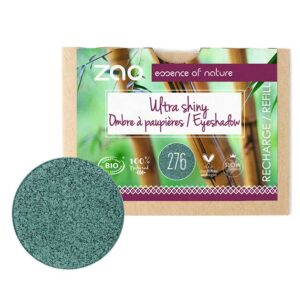 ONTS Φυσικά και Πιστοποιημένα Βιολογικά Προϊόντα Μακιγιάζ. Zao Eyeshadow Ultra Shiny: Εύχρηστες σκιές ματιών με λαμπερά highlights, μεταξένια υφή, έντονη χρωματική απόδοση και συστατικά που θρέφουν. ΑΝΤΑΛΛΑΚΤΙΚΟ