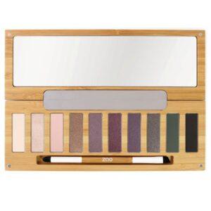 ONTS Φυσικά και Πιστοποιημένα Βιολογικά Προϊόντα Μακιγιάζ. Zao Eyeshadow Palette - 10 Essential Shadows: Παλέτα Clin d'œil n° 1, με τις 10 πιο απαραίτητες αποχρώσεις σκιών ματιών.100% φυσικές, βιολογικές & Vegan.