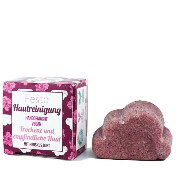 ONTS Φυσικά και Πιστοποιημένα Βιολογικά Προϊόντα Περιποίησης Προσώπου. Lamazuna Facial Cleanser. Χειροποίητο στερεό καθαριστικό προσώπου, 100% φυσικό, για κανονικά δέρματα. Καθαρίζει, ενυδατώνει, περιποιείται. Vegan.