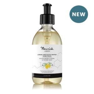 Nourish London Lemon Black Pepper Hand Wash