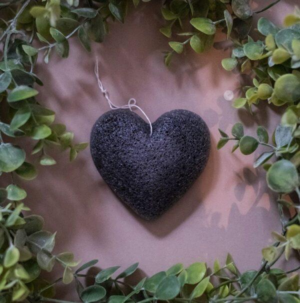 Konjac Heart Bamboo Charcoal