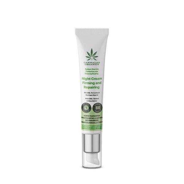 Cannalab Organics Firming and Repairing Night Cream