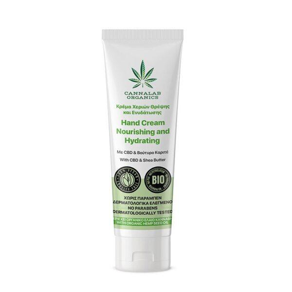 Cannalab Organics Nourishing and Hydrating Hand Cream