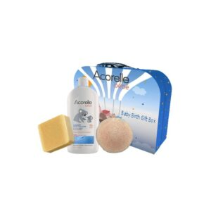 Baby-Birth-Gift-Box--Liniment,-Extra-mild-Soap-&-Konjac-Sponge