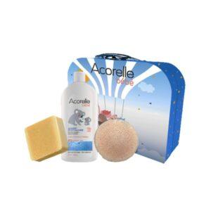 Acorelle-Baby-Birth-Gift-Box-Liniment-Extra-mild-Soap-Konjac-Sponge