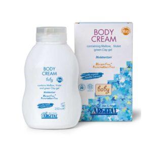 Argital Βιολογική κρέμα σώματος για βρέφη & παιδιά