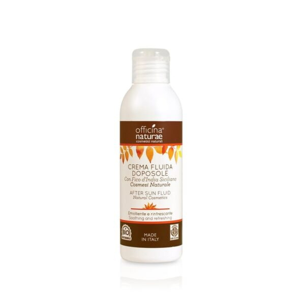 Officina Naturae Summer Essentials Φυσικό γαλάκτωμα σώματος για μετά τον ήλιο 150ml