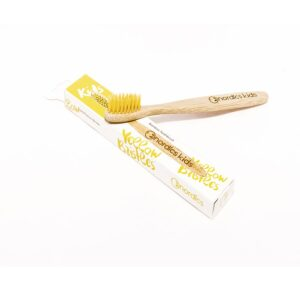 Nordics Kids Bamboo Toothbrush with Yellow Bristles