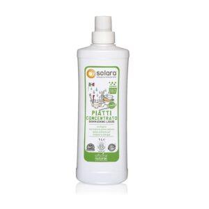 Officina Naturae Solara Βιολογικό συμπυκνωμένο απορρυπαντικό για το πλύσιμο των πιάτων, χωρίς άρωμα