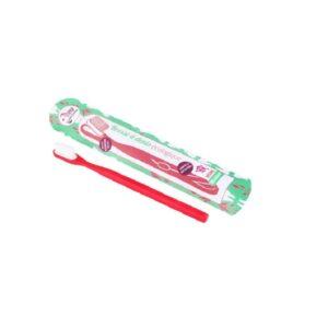 Οικολογική οδοντόβουρτσα με μεσαίες ίνες και αντικαταστάσιμη κεφαλή