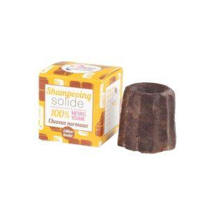 Στερεό 100% φυσικό σαμπουάν για κανονικά μαλλιά, με Σοκολάτα - 55g